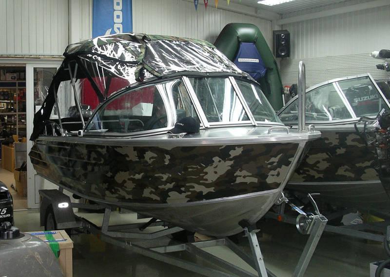 Камуфляж для лодки видео